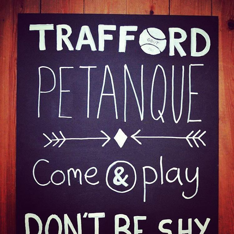Trafford Pétanque started in 2016 by two Pétanque enthusiasts